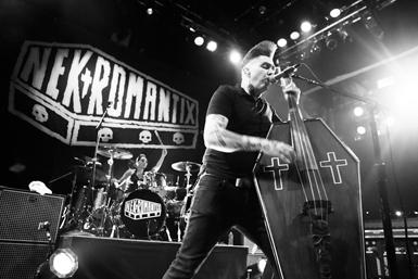 Lux Drummer Nekromantix