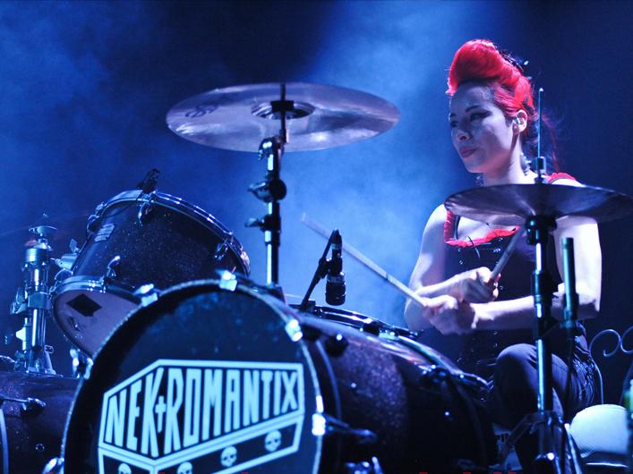 Lux Drummer w/ Nekromantix