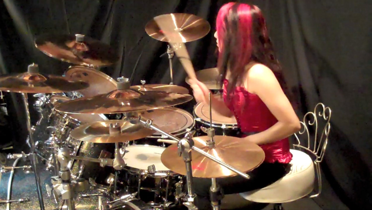 DECAPITATED SPHERES OF MADNESS DRUM COVER LUX DRUMMER