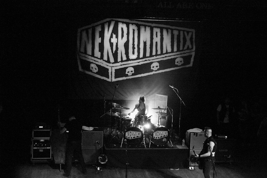 Lux w/ Nekromantix - Tour with The Casualties