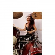 Lux Drummer 4 x 6 Photo