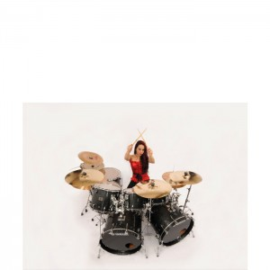 Lux Drummer 8 x 10 Photo